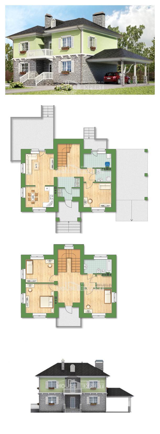 Проект дома 155-006-П   House Expert