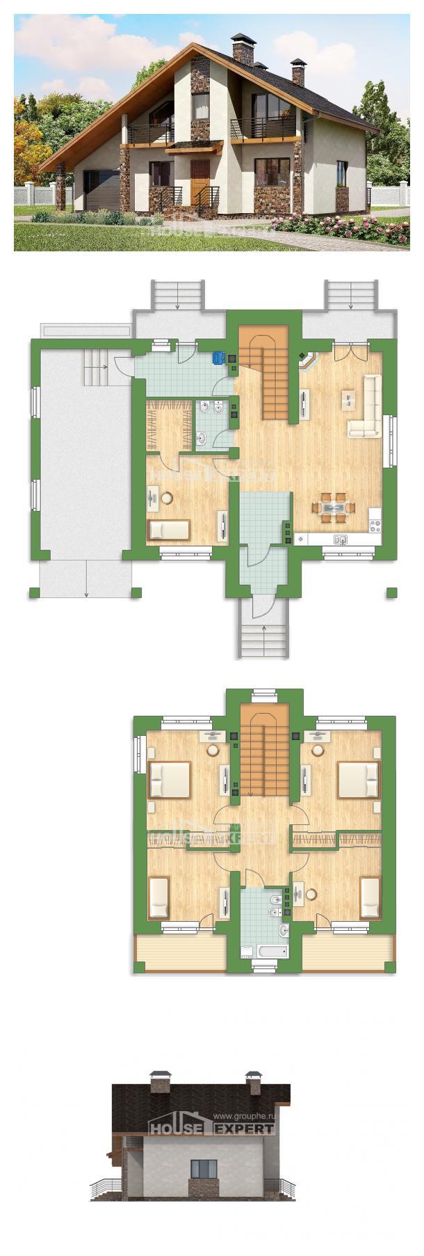 Проект дома 180-008-Л   House Expert