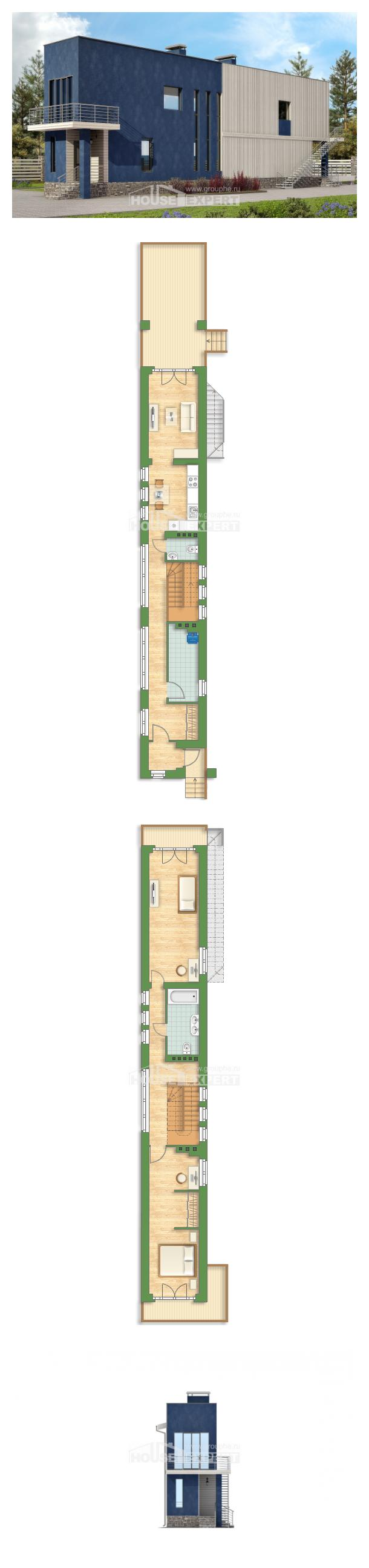 Проект дома 100-003-П   House Expert